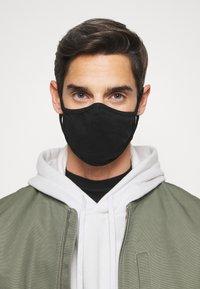 Urban Classics - FACE MASK 10 PACK - Community mask - black - 3