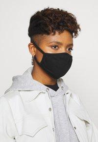 Urban Classics - FACE MASK 10 PACK - Community mask - black - 1