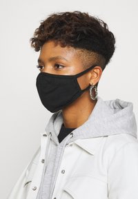Urban Classics - FACE MASK 10 PACK - Community mask - black - 2