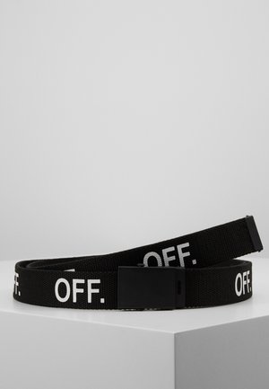 OFF BELT - Bælter - black