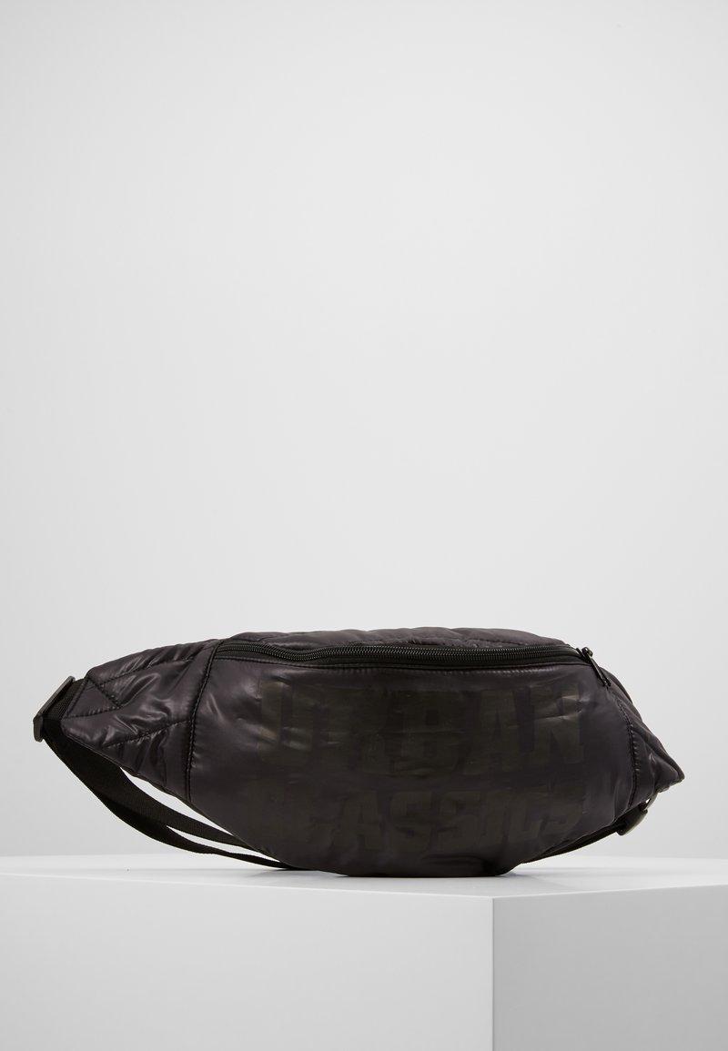 Urban Classics - PUFFER SHOULDER BAG - Bum bag - black