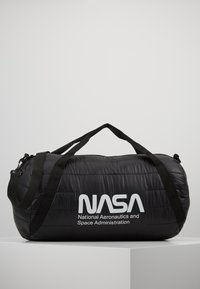 Urban Classics - NASA PUFFER DUFFLE BAG - Cestovní taška - black - 0