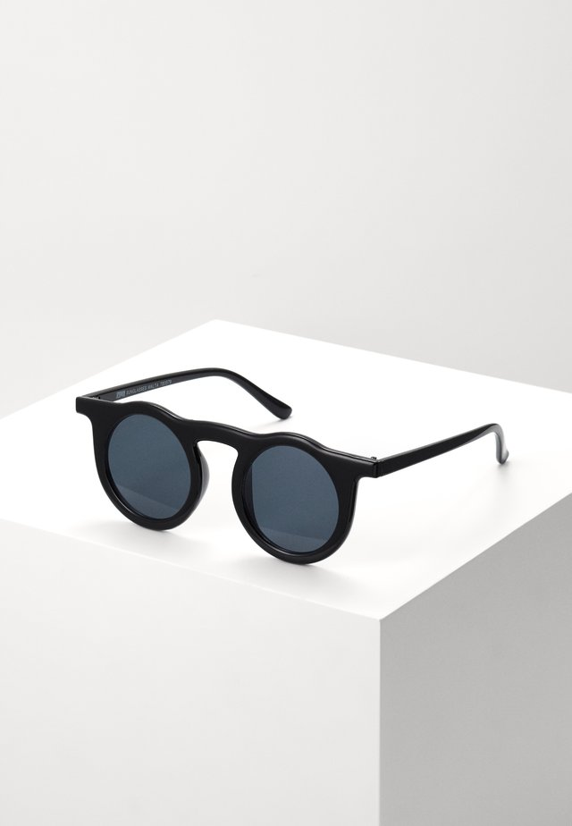 SUNGLASSES MALTA - Lunettes de soleil - black/black