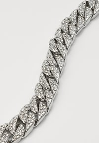 Urban Classics - BIG BRACELET WITH STONES - Bracelet - silver-coloured - 2