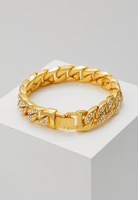 Urban Classics - BIG BRACELET WITH STONES - Pulsera - gold-coloured - 2