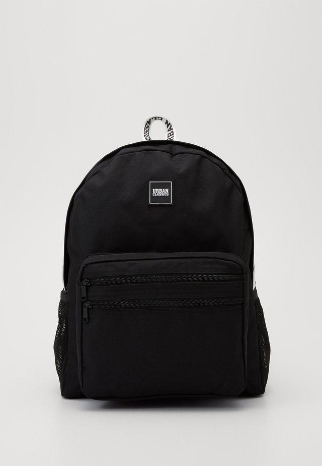 BASIC BACKPACK - Rucksack - black/white