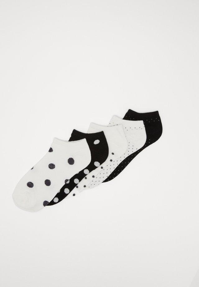 5 PACK - Socks - white/black
