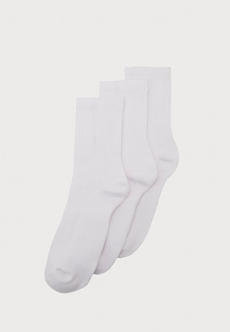 Urban Classics - SPORT 3 PACK - Chaussettes - white