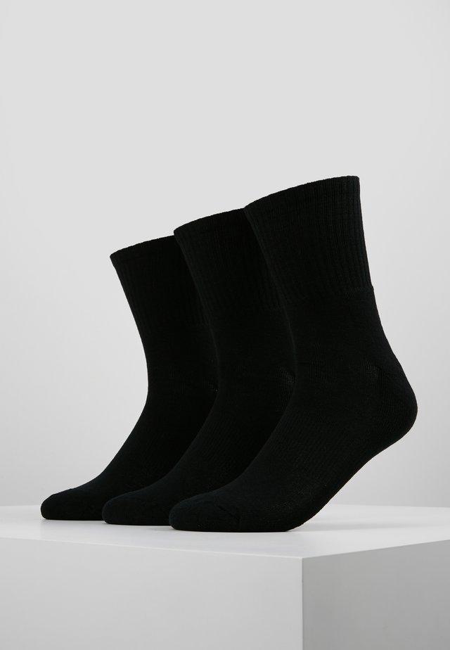 SPORT 3 PACK - Ponožky - black