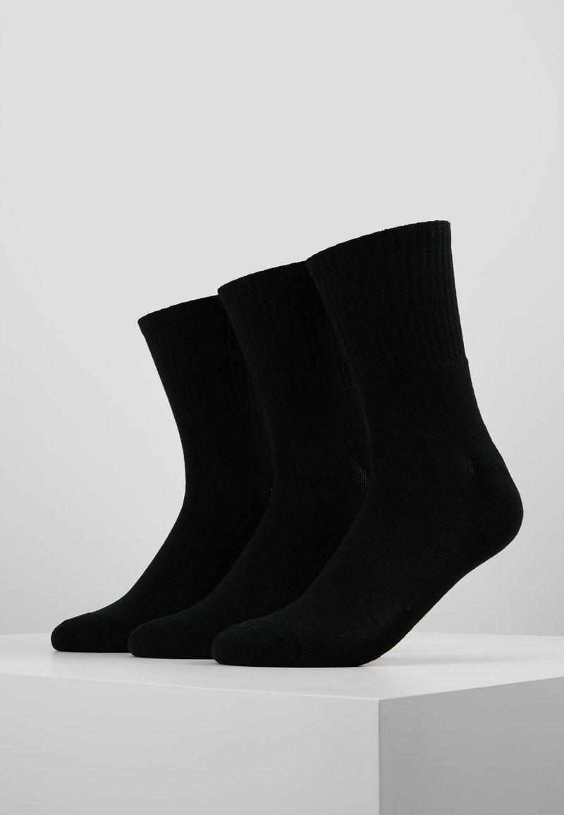 Urban Classics - SPORT 3 PACK - Socks - black