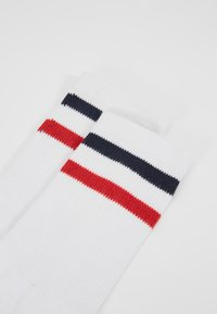 Urban Classics - 3-TONE COLLEGE SOCKS 6 PACK - Calze - white/navy/red - 2