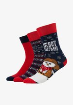 CHRISTMAS SOCKS SET ICE COWBOY 3 PACK - Socks - multicolor