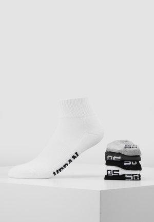 HIGH SNEAKER SOCKS 6 PACK - Sokken - black/white/grey/olive
