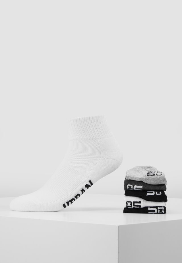 HIGH SNEAKER SOCKS 6 PACK - Sokker - black/white/grey/olive