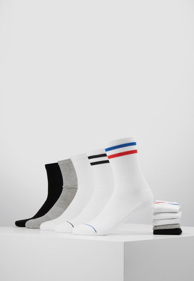 SPORTY SOCKS 10 PACK - Sokker - black/white/grey