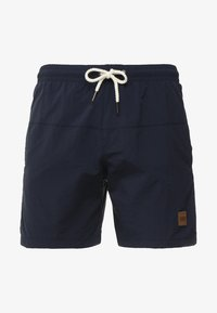 Urban Classics - BLOCK SWIM - Shorts da mare - navy - 2