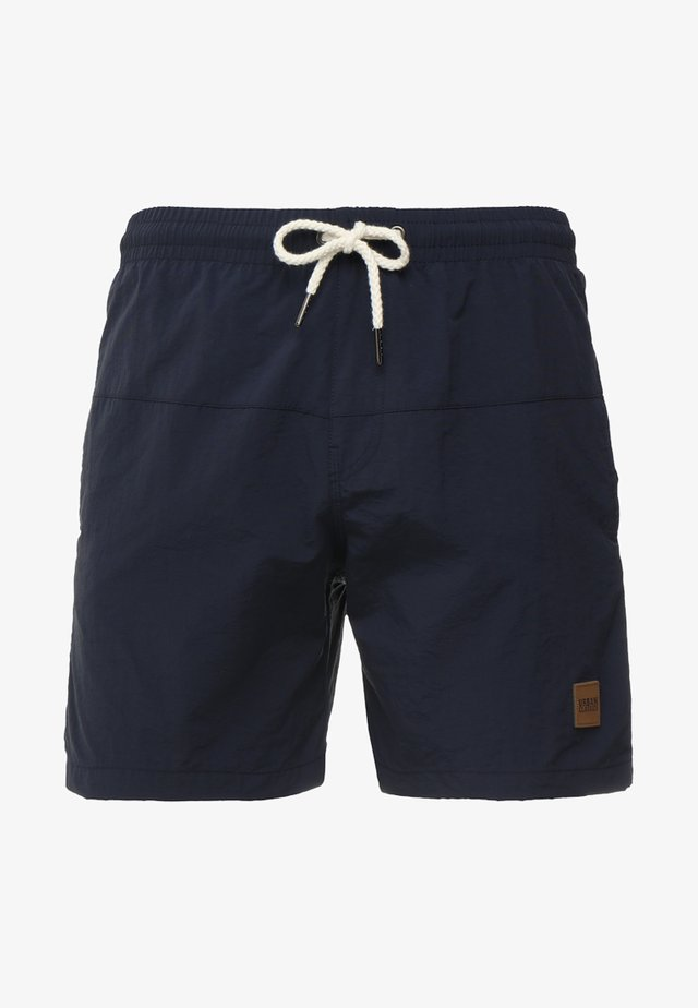 BLOCK SWIM - Swimming shorts - navy