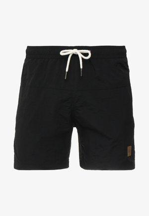 BLOCK SWIM - Shorts da mare - black