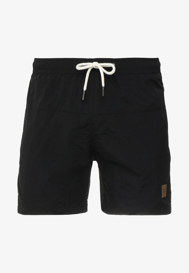 BLOCK SWIM - Badeshorts - black