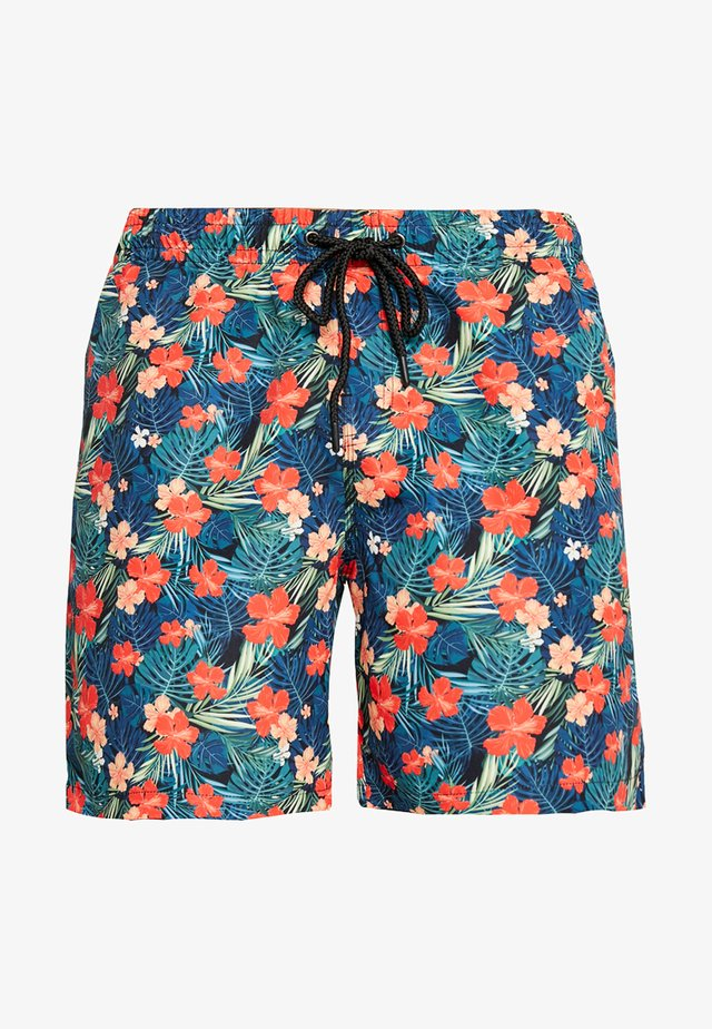 Badeshorts - black/tropical