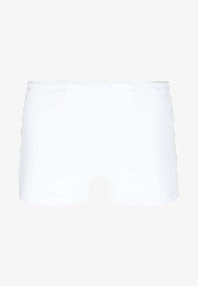 TRUNK - Swimming trunks - white