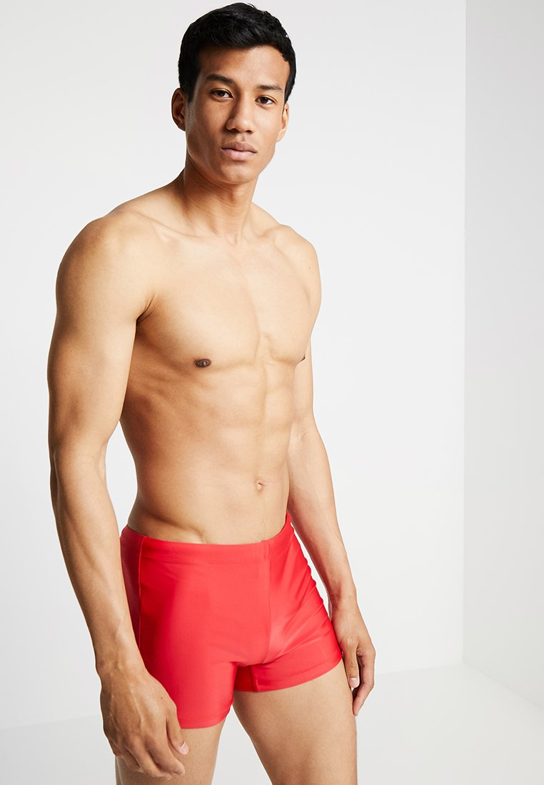Urban Classics - TRUNK - Swimming trunks - firered