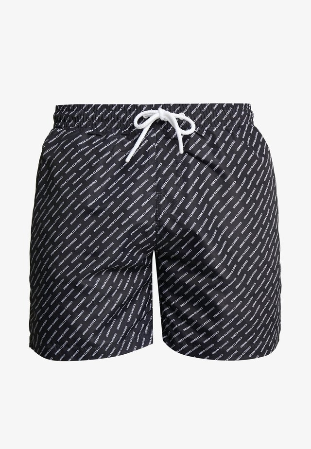 SWIM SHORTS - Badeshorts - black