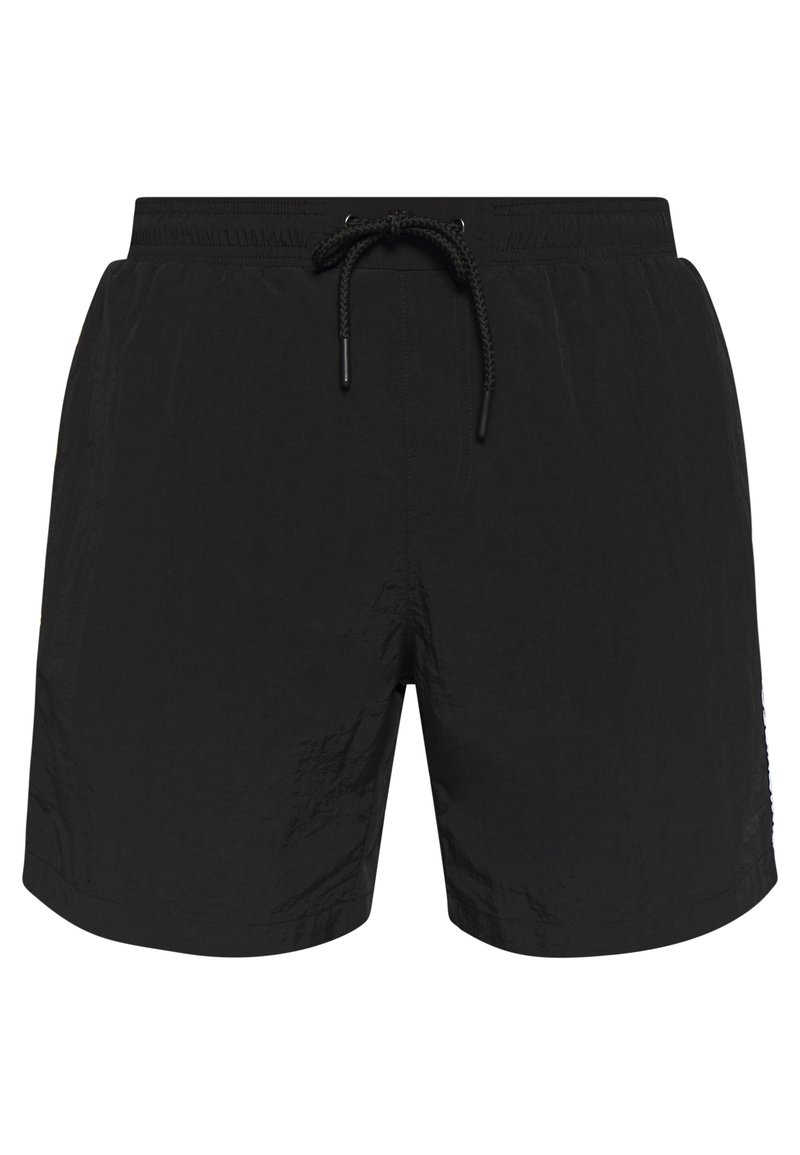 Urban Classics - TAPED SWIM - Shorts da mare - black
