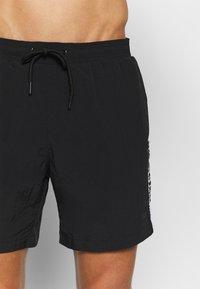 Urban Classics - TAPED SWIM - Shorts da mare - black - 2