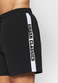 Urban Classics - TAPED SWIM - Shorts da mare - black - 4