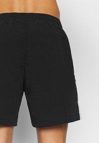Urban Classics - TAPED SWIM - Shorts da mare - black - 3