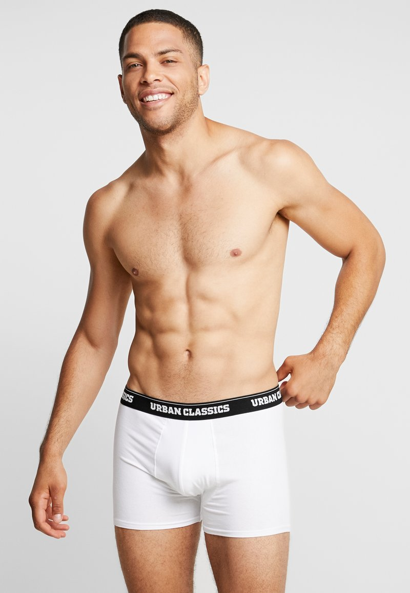 Urban Classics - MEN BOXER 3 PACK - Panties - black/white/grey