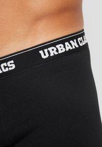 Urban Classics - MEN BOXER 5 PACK - Pants - black - 4