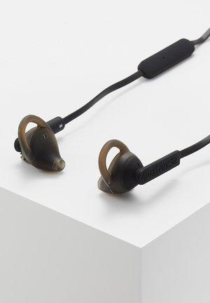 BOSTON SPORT BLUETOOTH - Høretelefoner - dark clown - black