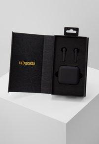 Urbanista - STOCKHOLM TRUE WIRELESS EARPHONES - Headphones - dark clown/black - 2