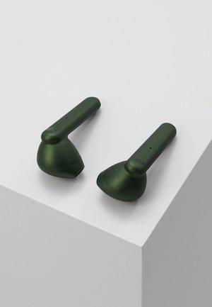 STOCKHOLM TRUE WIRELESS EARPHONES - Høretelefoner - olive green