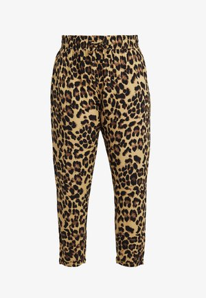 LADIES ELASTIC WAIST PANTS - Pantalon classique - multi-coloured