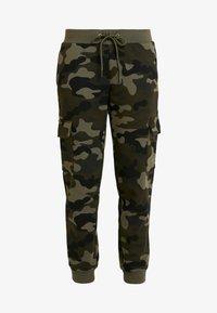 Urban Classics - LADIES CARGO PANTS - Spodnie treningowe - woodcamo/black - 3