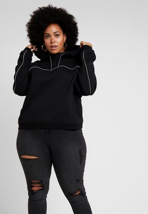 LADIES REFLECTIVE HOODY - Hættetrøjer - black