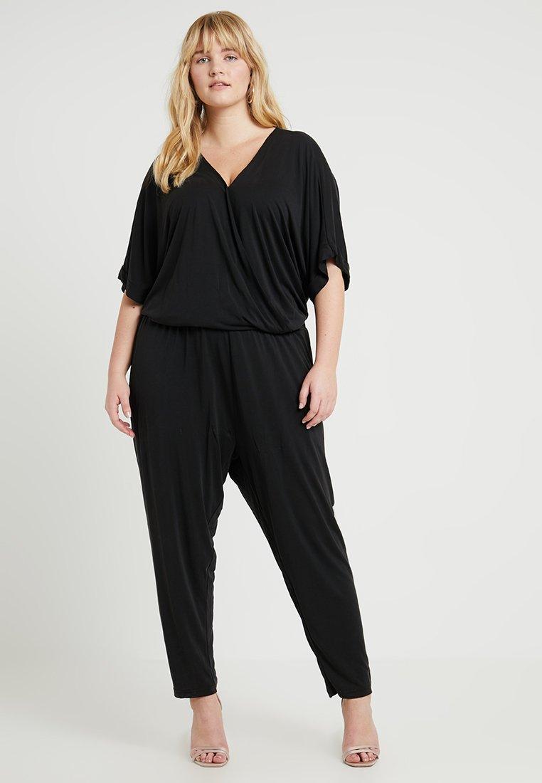 Urban Classics Curvy - LADIES - Jumpsuit - black