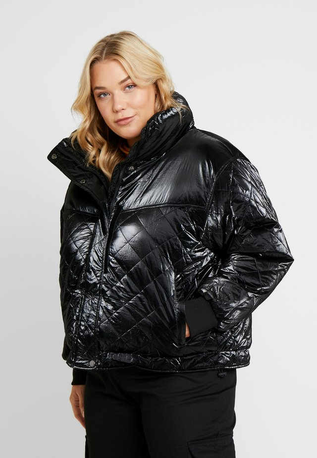 LADIES VANISH DIAMOND QUILT JACKET - Winter jacket - black