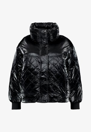 LADIES VANISH DIAMOND QUILT JACKET - Winter jacket - black