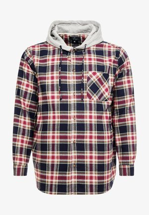 USCADEN SHIRT - Skjorte - brick red