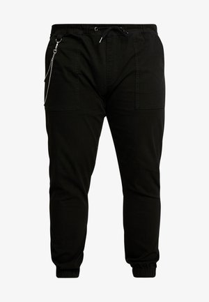 TRISTEN PANTS - Bukse - black
