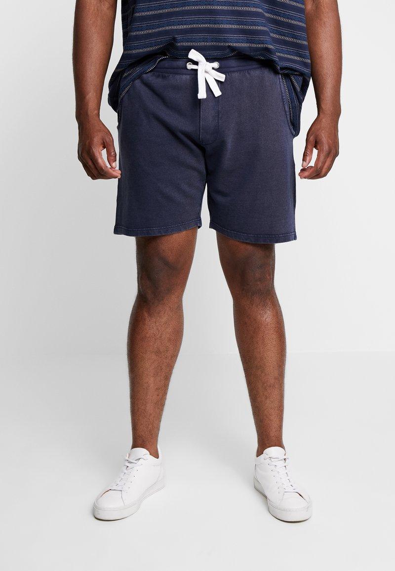 URBN SAINT - PALLE - Teplákové kalhoty - navy