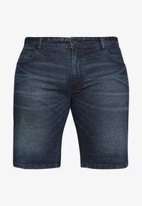 URBN SAINT - CHESTER  - Denim shorts - atlantic blue - 3