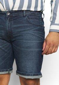 URBN SAINT - CHESTER  - Denim shorts - atlantic blue - 4
