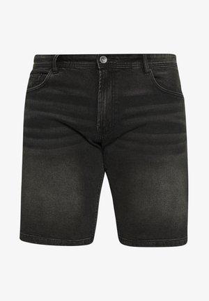 CHESTER - Denim shorts - black rock