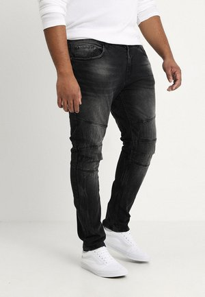 KYOTO WORKER - Jeans slim fit - black