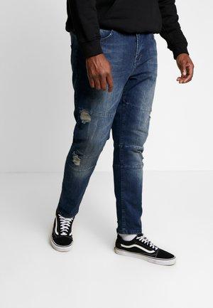 USGENEVE CUT DESTROY - Slim fit jeans - malgony blue
